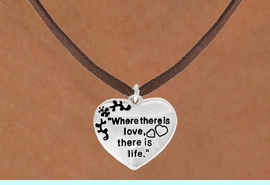 """<bR>                EXCLUSIVELY OURS!!<Br>          AN ALLAN ROBIN DESIGN!!<BR> CLICK HERE TO SEE 120+ EXCITING<BR>    CHANGES THAT YOU CAN MAKE!<BR>               LEAD & NICKEL FREE!!<BR>W704SN - """"WHERE THERE IS LOVE""""<BR>          HEART & NECKLACE FROM<bR>                      $4.50 TO $8.35"""