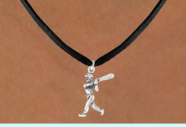 <bR>               EXCLUSIVELY OURS!!<Br>         AN ALLAN ROBIN DESIGN!!<BR>CLICK HERE TO SEE 120+ EXCITING<BR>   CHANGES THAT YOU CAN MAKE!<BR>              LEAD & NICKEL FREE!!<BR>  W706SN - BASEBALL/SOFTBALL<BR>      BATTER CHARM & NECKLACE<Br>               FROM $4.50 TO $8.35