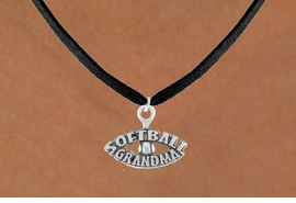 "<bR>                 EXCLUSIVELY OURS!!<Br>           AN ALLAN ROBIN DESIGN!!<BR>  CLICK HERE TO SEE 120+ EXCITING<BR>     CHANGES THAT YOU CAN MAKE!<BR>                LEAD & NICKEL FREE!!<BR>   W709SN - ""SOFTBALL GRANDMA""<BR>   & NECKLACE FROM $4.50 TO $8.35"