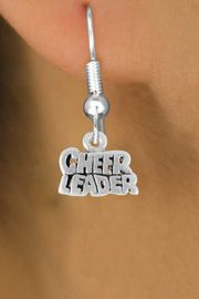 "<bR>                EXCLUSIVELY OURS!!<Br>          AN ALLAN ROBIN DESIGN!!<BR> CLICK HERE TO SEE 120+ EXCITING<BR>    CHANGES THAT YOU CAN MAKE!<BR>               LEAD & NICKEL FREE!!<BR>        W710SE - ""CHEERLEADER"" &<BR>    EARRINGS FROM $4.50 TO $8.35"