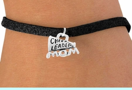 """<bR>                 EXCLUSIVELY OURS!!<Br>           AN ALLAN ROBIN DESIGN!!<BR>  CLICK HERE TO SEE 120+ EXCITING<BR>     CHANGES THAT YOU CAN MAKE!<BR>                LEAD & NICKEL FREE!!<BR>  W711SB - """"CHEERLEADER MOM"""" &<Br>      BRACELET FROM $4.50 TO $8.35"""