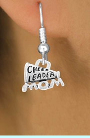 """<bR>                 EXCLUSIVELY OURS!!<Br>           AN ALLAN ROBIN DESIGN!!<BR>  CLICK HERE TO SEE 120+ EXCITING<BR>     CHANGES THAT YOU CAN MAKE!<BR>                LEAD & NICKEL FREE!!<BR>  W711SE - """"CHEERLEADER MOM"""" &<BR>     EARRINGS FROM $4.50 TO $8.35"""