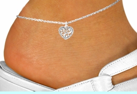 <bR>                EXCLUSIVELY OURS!!<BR>          AN ALLAN ROBIN DESIGN!!<BR> CLICK HERE TO SEE 120+ EXCITING<BR>    CHANGES THAT YOU CAN MAKE!<BR>               LEAD & NICKEL FREE!!<BR>   W713SAK - SCROLL WORK HEART<Br>     & ANKLET FROM $4.50 TO $8.35