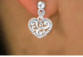 <bR>                EXCLUSIVELY OURS!!<Br>          AN ALLAN ROBIN DESIGN!!<BR> CLICK HERE TO SEE 120+ EXCITING<BR>    CHANGES THAT YOU CAN MAKE!<BR>               LEAD & NICKEL FREE!!<BR> W713SE - SCROLL-WORK HEART &<BR>    EARRINGS FROM $4.50 TO $8.35