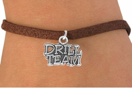 "<bR>               EXCLUSIVELY OURS!!<Br>          AN ALLAN ROBIN DESIGN!!<BR> CLICK HERE TO SEE 120+ EXCITING<BR>    CHANGES THAT YOU CAN MAKE!<BR>               LEAD & NICKEL FREE!!<BR>W714SB -  ""DRILL TEAM"" CHARM &<Br>    BRACELET FROM $4.50 TO $8.35<Br>                               &#169;2010"