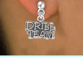 """<bR>                EXCLUSIVELY OURS!!<Br>          AN ALLAN ROBIN DESIGN!!<BR> CLICK HERE TO SEE 120+ EXCITING<BR>    CHANGES THAT YOU CAN MAKE!<BR>               LEAD & NICKEL FREE!!<BR> W714SE - """"DRILL TEAM"""" CHARM &<BR>    EARRINGS FROM $4.50 TO $8.35<bR>                                &#169;2010"""