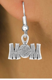 "<bR>                 EXCLUSIVELY OURS!!<Br>           AN ALLAN ROBIN DESIGN!!<BR>  CLICK HERE TO SEE 120+ EXCITING<BR>     CHANGES THAT YOU CAN MAKE!<BR>                LEAD & NICKEL FREE!!<BR>      W732SE - ""BASEBALL MOM"" &<BR>     EARRINGS FROM $4.50 TO $8.35"