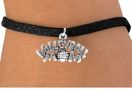 "<bR>                 EXCLUSIVELY OURS!!<Br>           AN ALLAN ROBIN DESIGN!!<BR>  CLICK HERE TO SEE 120+ EXCITING<BR>     CHANGES THAT YOU CAN MAKE!<BR>                LEAD & NICKEL FREE!!<BR>       W735SB - ""VOLLEYBALL MOM""<Br>      BRACELET FROM $4.50 TO $8.35"