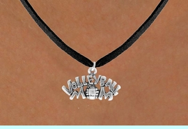 """<bR>                EXCLUSIVELY OURS!!<Br>          AN ALLAN ROBIN DESIGN!!<BR>  CLICK HERE TO SEE 120+ EXCITING<BR>     CHANGES THAT YOU CAN MAKE!<BR>                LEAD & NICKEL FREE!!<BR>    W735SN - """"VOLLEYBALL MOM"""" &<BR>     NECKLACE FROM $4.50 TO $8.35"""