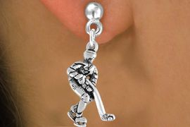 <bR>                 EXCLUSIVELY OURS!!<Br>           AN ALLAN ROBIN DESIGN!!<BR>  CLICK HERE TO SEE 120+ EXCITING<BR>     CHANGES THAT YOU CAN MAKE!<BR>                LEAD & NICKEL FREE!!<BR>  W739SE - HOCKEY PLAYER CHARM<BR>     EARRINGS FROM $4.50 TO $8.35