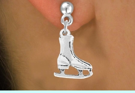 <bR>                 EXCLUSIVELY OURS!!<Br>           AN ALLAN ROBIN DESIGN!!<BR>  CLICK HERE TO SEE 120+ EXCITING<BR>     CHANGES THAT YOU CAN MAKE!<BR>                LEAD & NICKEL FREE!!<BR>   W741SE - SILVER TONE ICE SKATE<BR>    EARRINGS FROM $4.50 TO $8.35