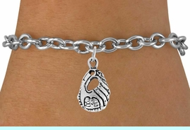 <bR>                 EXCLUSIVELY OURS!!<Br>           AN ALLAN ROBIN DESIGN!!<BR>  CLICK HERE TO SEE 120+ EXCITING<BR>     CHANGES THAT YOU CAN MAKE!<BR>                LEAD & NICKEL FREE!!<BR>  W742SB - SOFTBALL / BASEBALL<Br>  GLOVE CHARM & BRACELET FROM<Br>                  $5.00 TO $8.35 �2010