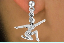 """<bR>                 EXCLUSIVELY OURS!!<Br>           AN ALLAN ROBIN DESIGN!!<BR>  CLICK HERE TO SEE 120+ EXCITING<BR>     CHANGES THAT YOU CAN MAKE!<BR>                LEAD & NICKEL FREE!!<BR>     W743SE - """"FLOOR GYMNAST"""" &<BR>     EARRINGS FROM $4.50 TO $8.35<BR>                               �2008"""