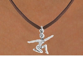 "<bR>                 EXCLUSIVELY OURS!!<Br>           AN ALLAN ROBIN DESIGN!!<BR>  CLICK HERE TO SEE 120+ EXCITING<BR>     CHANGES THAT YOU CAN MAKE!<BR>                LEAD & NICKEL FREE!!<BR>     W743SN - ""FLOOR GYMNAST"" &<BR>     NECKLACE FROM $4.50 TO $8.35<BR>                              �2008"
