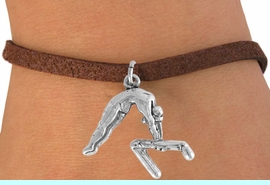 """<bR>                 EXCLUSIVELY OURS!!<Br>           AN ALLAN ROBIN DESIGN!!<BR>  CLICK HERE TO SEE 120+ EXCITING<BR>     CHANGES THAT YOU CAN MAKE!<BR>                LEAD & NICKEL FREE!!<BR>   W744SB - """"GYMNAST ON BAR"""" &<Br>     BRACELET FROM $4.50 TO $8.35<BR>                                  �2008"""