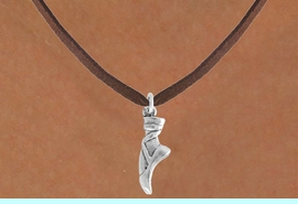 """<bR>                 EXCLUSIVELY OURS!!<Br>           AN ALLAN ROBIN DESIGN!!<BR>  CLICK HERE TO SEE 120+ EXCITING<BR>     CHANGES THAT YOU CAN MAKE!<BR>                LEAD & NICKEL FREE!!<BR>      W745SN - """"BALLET SLIPPER"""" &<BR>     NECKLACE FROM $4.50 TO $8.35"""