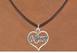"<bR>                 EXCLUSIVELY OURS!!<Br>           AN ALLAN ROBIN DESIGN!!<BR>  CLICK HERE TO SEE 120+ EXCITING<BR>     CHANGES THAT YOU CAN MAKE!<BR>                LEAD & NICKEL FREE!!<BR>        W750SN - ""NURSE"" HEART &<BR>     NECKLACE FROM $4.50 TO $8.35"