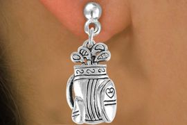 <bR>                 EXCLUSIVELY OURS!!<Br>           AN ALLAN ROBIN DESIGN!!<BR>  CLICK HERE TO SEE 120+ EXCITING<BR>     CHANGES THAT YOU CAN MAKE!<BR>                LEAD & NICKEL FREE!!<BR>       W752SE - GOLF BAG CHARM &<BR>     EARRINGS FROM $4.50 TO $8.35