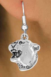 <bR>               EXCLUSIVELY OURS!!<Br>         AN ALLAN ROBIN DESIGN!!<BR>CLICK HERE TO SEE 120+ EXCITING<BR>   CHANGES THAT YOU CAN MAKE!<BR>               LEAD & NICKEL FREE!!<BR>           W826SE -COUGAR HEAD<Br>  EARRINGS FROM $4.50 TO $8.35