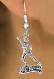 """<bR>                  EXCLUSIVELY OURS!!<Br>            AN ALLAN ROBIN DESIGN!!<BR>   CLICK HERE TO SEE 120+ EXCITING<BR>      CHANGES THAT YOU CAN MAKE!<BR>                 LEAD & NICKEL FREE!!<BR>        W834E1 - """"DANCE"""" CHARM<Br>              EARRINGS $9.68 EACH �2015"""
