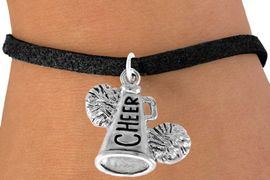 "<bR>                  EXCLUSIVELY OURS!!<Br>            AN ALLAN ROBIN DESIGN!!<BR>   CLICK HERE TO SEE 120+ EXCITING<BR>      CHANGES THAT YOU CAN MAKE!<BR>                 LEAD & NICKEL FREE!!<BR>     W835SB3 - ""CHEER"" MEGAPHONE<Br>                  BRACELET  $8.38 EACH"