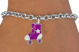 <bR>                 EXCLUSIVELY OURS!!<Br>           AN ALLAN ROBIN DESIGN!!<BR>  CLICK HERE TO SEE 120+ EXCITING<BR>     CHANGES THAT YOU CAN MAKE!<BR>W719SB - COLORED ROLLER SKATES<Br>   & BRACELET FROM $4.50 TO $8.35