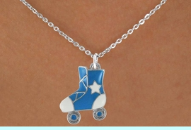 <bR>                 EXCLUSIVELY OURS!!<Br>           AN ALLAN ROBIN DESIGN!!<BR>  CLICK HERE TO SEE 120+ EXCITING<BR>     CHANGES THAT YOU CAN MAKE!<BR>W719SN - COLORED ROLLER SKATES<BR>  & NECKLACE FROM $4.50 TO $8.35