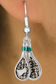 <bR>               EXCLUSIVELY OURS!!<Br>         AN ALLAN ROBIN DESIGN!!<BR>CLICK HERE TO SEE 120+ EXCITING<BR>   CHANGES THAT YOU CAN MAKE!<BR>  W720SE - COLORED BADMINTON<Br>     RACKETS & BIRDIE CHARM ON<bR>  EARRINGS FROM  $4.50 TO $8.35