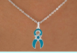 <bR>                EXCLUSIVELY OURS!!<Br>          AN ALLAN ROBIN DESIGN!!<BR>CLICK HERE TO SEE 120+ EXCITING<BR>   CHANGES THAT YOU CAN MAKE!<BR>       W724SN - TEAL AWARENESS<bR>          RIBBON & STAR OF DAVID<Br>  NECKLACE FROM  $4.50 TO $8.35