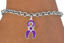 <bR>                EXCLUSIVELY OURS!!<Br>          AN ALLAN ROBIN DESIGN!!<BR>CLICK HERE TO SEE 120+ EXCITING<BR>   CHANGES THAT YOU CAN MAKE!<BR>    W725SB - PURPLE AWARENESS<bR>          RIBBON & STAR OF DAVID<Br>   BRACELET FROM  $4.50 TO $8.35