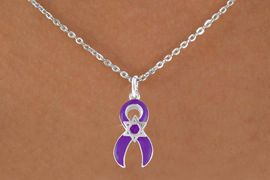 <bR>                EXCLUSIVELY OURS!!<Br>          AN ALLAN ROBIN DESIGN!!<BR>CLICK HERE TO SEE 120+ EXCITING<BR>   CHANGES THAT YOU CAN MAKE!<BR>    W725SN - PURPLE AWARENESS<bR>          RIBBON & STAR OF DAVID<Br>  NECKLACE FROM  $4.50 TO $8.35