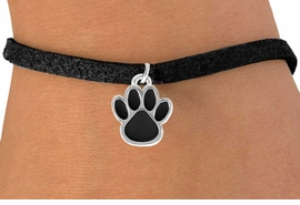 <bR>               EXCLUSIVELY OURS!!<Br>         AN ALLAN ROBIN DESIGN!!<BR>CLICK HERE TO SEE 500+ EXCITING<BR>   CHANGES THAT YOU CAN MAKE!<BR>              LEAD & NICKEL FREE!!<BR>  W668SB - SMALL BLACK PAW CHARM &<Br>   BRACELET FROM $4.50 TO $8.35