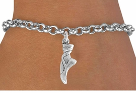 "<bR>                 EXCLUSIVELY OURS!!<Br>           AN ALLAN ROBIN DESIGN!!<BR>  CLICK HERE TO SEE 500+ EXCITING<BR>     CHANGES THAT YOU CAN MAKE!<BR>                LEAD & NICKEL FREE!!<BR>     W745SB - ""BALLET SLIPPER"" &<Br>     BRACELET FROM $4.50 TO $8.35"