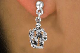 <bR>                 EXCLUSIVELY OURS!!<Br>           AN ALLAN ROBIN DESIGN!!<BR>  CLICK HERE TO SEE 500+ EXCITING<BR>     CHANGES THAT YOU CAN MAKE!<BR>                LEAD & NICKEL FREE!!<BR>            W757SE � HOCKEY GUARD<BR>     EARRINGS FROM $4.50 TO $8.35