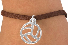 <bR>                    EXCLUSIVELY OURS!!<Br>              AN ALLAN ROBIN DESIGN!!<BR>  CLICK HERE TO SEE 500+ EXCITING<BR>     CHANGES THAT YOU CAN MAKE!<BR>                LEAD & NICKEL FREE!!<BR> W762SB - CUT OUT VOLLEYBALL CHARM<Br>         BRACELET FROM $4.50 TO $8.35