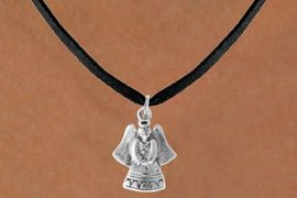 <bR>                 EXCLUSIVELY OURS!!<Br>           AN ALLAN ROBIN DESIGN!!<BR>  CLICK HERE TO SEE 500+ EXCITING<BR>     CHANGES THAT YOU CAN MAKE!<BR>                LEAD & NICKEL FREE!!<BR>  W765SN - SWEET ANGEL CHARM <BR>    NECKLACE FROM $4.50 TO $8.35