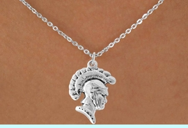 <bR>                 EXCLUSIVELY OURS!!<Br>           AN ALLAN ROBIN DESIGN!!<BR>  CLICK HERE TO SEE 500+ EXCITING<BR>     CHANGES THAT YOU CAN MAKE!<BR>                LEAD & NICKEL FREE!!<BR>          W769SN - TROJAN CHARM <BR>    NECKLACE FROM $4.50 TO $8.35