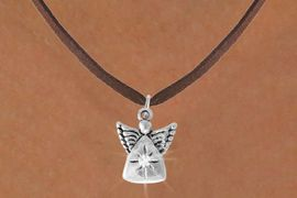 <Br>               EXCLUSIVELY OURS!!<Br>          AN ALLAN ROBIN DESIGN!!<Br>  CLICK HERE TO SEE 500+ EXCITING<BR>     CHANGES THAT YOU CAN MAKE!<BR>                LEAD & NICKEL FREE!!<BR>        W773SN - CRYSTAL ACCENTED <BR>           ANGEL CHARM NECKLACE<BR>                FROM $4.65 TO $8.50