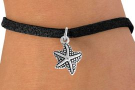 <bR>                    EXCLUSIVELY OURS!!<Br>              AN ALLAN ROBIN DESIGN!!<BR>  CLICK HERE TO SEE 500+ EXCITING<BR>     CHANGES THAT YOU CAN MAKE!<BR>                LEAD & NICKEL FREE!!<BR>     W800SB - STAR FISH CHARM<Br>    BRACELET FROM $4.50 TO $8.35