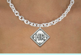 """<bR>              SOFTBALL LARGE TOGGLE CHAIN NECKLACE <BR>             <BR>                                   <BR>      LEAD, NICKEL & CADMIUM FREE!! <BR>PLAYERS POSITION AND TEAM NUMBER  <BR>   W1255N -  """"SOFTBALL DIAMOND"""" <Br>       CHARM & LARGE TOGGLE CHAIN NECKLACE <BR>           $10.68 EACH  �2012"""