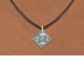 """<bR>                  SOFTBALL NECKLACE - ADJUSTABLE<BR>            <BR>                                  <BR>      LEAD, NICKEL & CADMIUM FREE!! <BR>PLAYERS POSITION AND TEAM NUMBER  <BR>   W1255N4 -  """"SOFTBALL DIAMOND"""" <Br>       SILVER TONE CHARM & NECKLACE <BR>         $9.68 EACH �2012"""