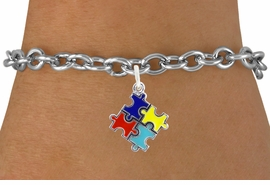 <bR>                   EXCLUSIVELY OURS!!<BR>             AN ALLAN ROBIN DESIGN!!<BR>    CLICK HERE TO SEE 600+ EXCITING<BR>       CHANGES THAT YOU CAN MAKE!<BR>      LEAD, NICKEL & CADMIUM FREE!!<BR>W1089SB - MINI AUTISM AWARENESS<BR>   COLOR PUZZLE CHARM & BRACELET<Br>           FROM $4.15 TO $8.00 �2011