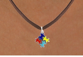 <bR>                   EXCLUSIVELY OURS!!<BR>             AN ALLAN ROBIN DESIGN!!<BR>    CLICK HERE TO SEE 600+ EXCITING<BR>       CHANGES THAT YOU CAN MAKE!<BR>      LEAD, NICKEL & CADMIUM FREE!!<BR>W1089SN - MINI AUTISM AWARENESS<BR>   COLOR PUZZLE CHARM & NECKLACE<Br>           FROM $4.50 TO $8.35 �2011
