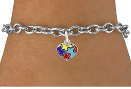 <bR>                   EXCLUSIVELY OURS!!<BR>             AN ALLAN ROBIN DESIGN!!<BR>    CLICK HERE TO SEE 600+ EXCITING<BR>       CHANGES THAT YOU CAN MAKE!<BR>      LEAD, NICKEL & CADMIUM FREE!!<BR>W1090SB - MINI AUTISM AWARENESS<BR>     PUZZLE HEART CHARM & BRACELET<Br>           FROM $4.15 TO $8.00 �2011