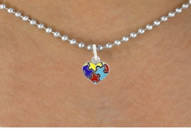 <bR>                   EXCLUSIVELY OURS!!<BR>             AN ALLAN ROBIN DESIGN!!<BR>    CLICK HERE TO SEE 600+ EXCITING<BR>       CHANGES THAT YOU CAN MAKE!<BR>      LEAD, NICKEL & CADMIUM FREE!!<BR>W1090SN - MINI AUTISM AWARENESS<BR>   PUZZLE HEART CHARM & NECKLACE<Br>           FROM $4.50 TO $8.35 �2011