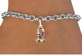 <bR>                   EXCLUSIVELY OURS!!<BR>             AN ALLAN ROBIN DESIGN!!<BR>    CLICK HERE TO SEE 600+ EXCITING<BR>       CHANGES THAT YOU CAN MAKE!<BR>      LEAD, NICKEL & CADMIUM FREE!!<BR>W1091SB - MINI AUTISM AWARENESS<BR>  PUZZLE RIBBON CHARM & BRACELET<Br>           FROM $4.15 TO $8.00 �2011