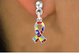 <bR>                   EXCLUSIVELY OURS!!<BR>             AN ALLAN ROBIN DESIGN!!<BR>    CLICK HERE TO SEE 600+ EXCITING<BR>       CHANGES THAT YOU CAN MAKE!<BR>      LEAD, NICKEL & CADMIUM FREE!!<BR>W1091SE - MINI AUTISM AWARENESS<BR>    PUZZLE RIBBON CHARM EARRINGS<Br>           FROM $4.50 TO $8.35 �2011