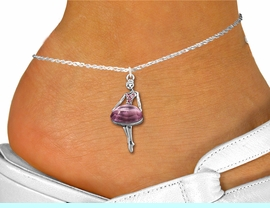 <bR>                 EXCLUSIVELY OURS!!<BR>           AN ALLAN ROBIN DESIGN!!<BR>  CLICK HERE TO SEE 600+ EXCITING<BR>     CHANGES THAT YOU CAN MAKE!<BR>LEAD, NICKEL & CADMIUM FREE!!<BR> W1269SAK - BEAUTIFUL  BALLERINA <BR>ROSE CRYSTAL CHARM AND ANKLET <Br>      FROM $5.40 TO $9.85 �2012