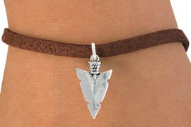 "<bR>               EXCLUSIVELY OURS!!<BR>         AN ALLAN ROBIN DESIGN!!<BR>CLICK HERE TO SEE 600+ EXCITING<BR>   CHANGES THAT YOU CAN MAKE!<BR>              LEAD & NICKEL FREE!!<BR>         W1003SB - ""ARROWHEAD"" <Br>   & BRACELET FROM $4.15 TO $8.00"