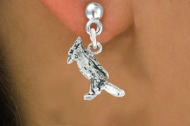 """<bR>               EXCLUSIVELY OURS!!<BR>         AN ALLAN ROBIN DESIGN!!<BR>CLICK HERE TO SEE 600+ EXCITING<BR>   CHANGES THAT YOU CAN MAKE!<BR>              LEAD & NICKEL FREE!!<BR>            W1005SE - """"CARDINAL""""<Br>  EARRINGS FROM $4.50 TO $8.35"""